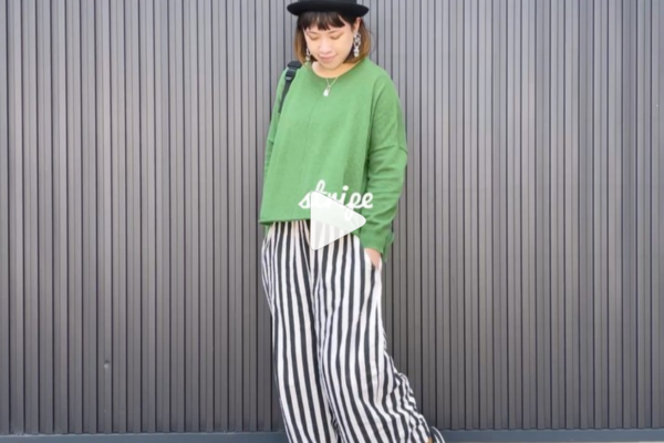 Green knit変身ムービー