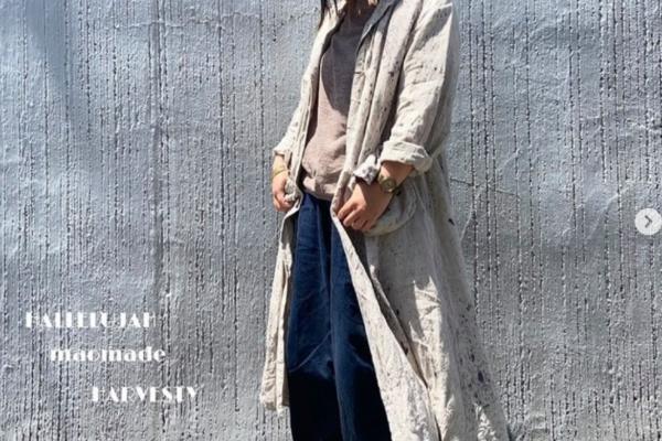 【HALLELUJAH】 羊飼い染めマント18世紀ポケット