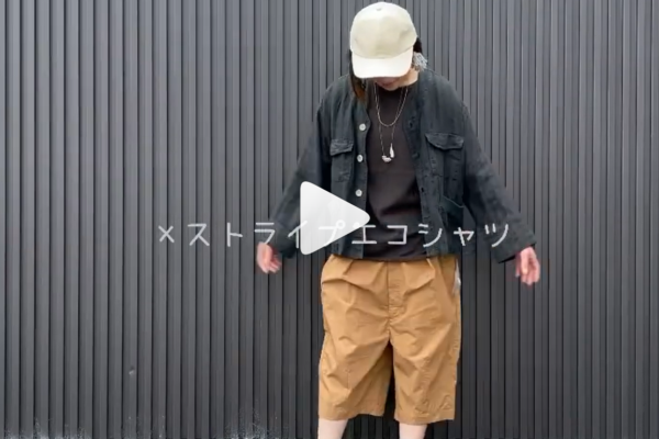 【タイプライタークロス8分丈パンツ】