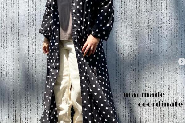 【maomade】アッシュモカのロゴTEE