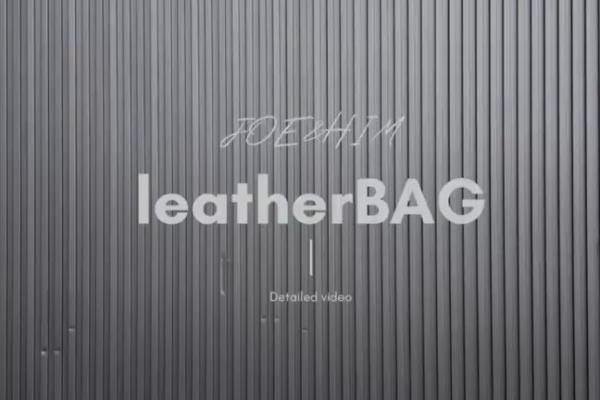 leather BAG受注開始!
