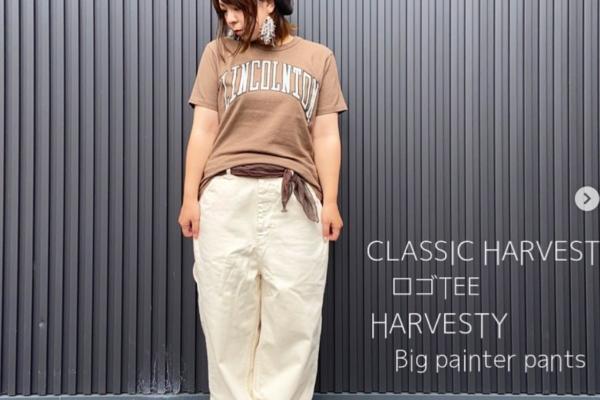 【CLASSIC HARVEST】ロゴTEE