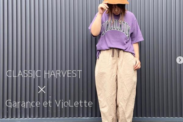 【CLASSIC HARVEST】 ロゴTEEオーダー